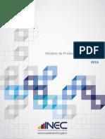 Documento Del Modelo de Produccion Estadistica
