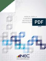 Manual Documentar Metodologia Operaciones Estadisticas