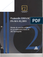 Protocolo Amaac Pa-ma 01 2011