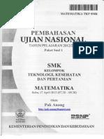 Pembahasan Soal UN Matematika SMK TKP 2013 Paket 1.pdf