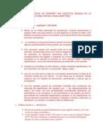 12 Formas Básicas de Enseñanza de Acuerdo a Hans Aebli