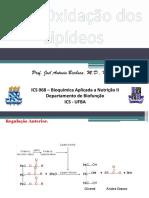 Aula Teorica 7 - Beta-Oxidação de Lipidios