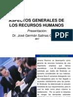 3.- Aspectos Generales de Los RRHH 2016