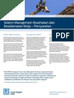 ISO 45001 Datasheet Indonesia