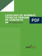 Catálogo de Normas de Técnicas Peruanas de Concreto 2014.pdf