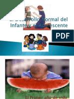 El Desarrollo Normal Del Infante y El Adolescente