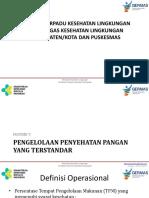 MATERI 5 PENGELOLAAN PENYAHATAN PANGAN YANG TERSTANDAR ORIENTASI TERPADU 2017-24 mar 17 (1).ppt
