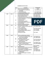 Calendario Cívico Escolar 2013