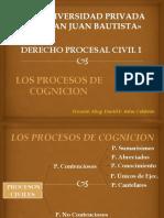Derecho Procesal Civil i - Sesion i