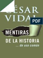 Mentiras de La Historia_. de Us - Cesar Vidal