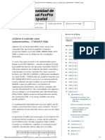 Comunidad de Visual FoxPro en Español_ ¿Cómo y Cuándo Usar Subconsultas..