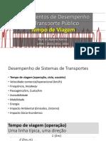 2015-2-Fundamentos 2 - Tempo de Viagem Operacional, Headway, Frequência