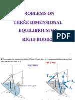 10P Equilibrium of Rigid Body3D SS