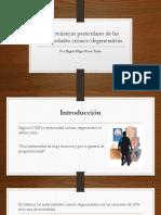 Características Particulares de Las Enfermedades Crónico Degenerativas