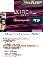 L'Oreal – Building a Global Cosmetic Brand
