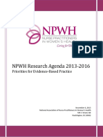 WHNP Research Priorities