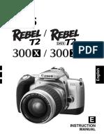 Eos Rebel t2 Series Eos 300x Series