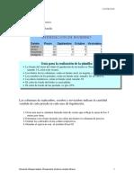 Prácticas Excel Nivel Básico