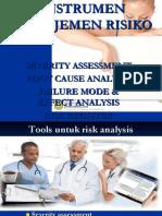 4. Tools Manajemen Risiko