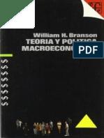 Teoría y Politica Macroeconomica