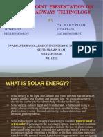 Pppt for Solar