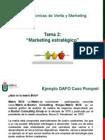 Matriz BCG Marketing Estratégico