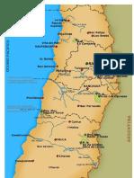 Mapa Zona Central