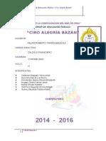 CALCULO FINANCIERO 2016