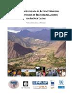 Telecomunicaciones en Latino America
