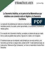 Geometrria Analitica