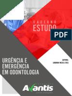 Caderno Urgência e Emergência Odontológica.