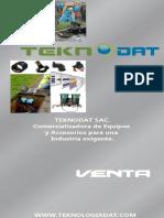 TEKNODAT Catalogo de Servicios Instalación Subterranea