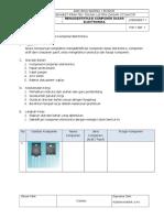 Job Sheet 1 (Komponen Elektronika)