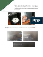 Manual de Instalación Con Clonezilla