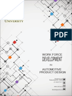 Centurion University Automotive Product Development Work Force Development