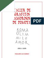 Taller Grafitos Amorosos Pompeya de Fernando Lillo Redonet