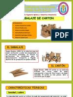 Embalaje de Carton - Proyecto