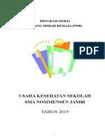 Contoh Program Kerja PMR
