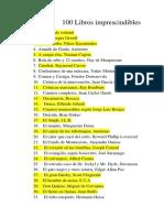 100 Libros Imprescindibles