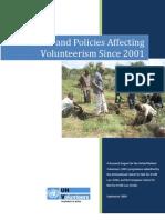 Volunteerism Laws and Policies - June 2010
