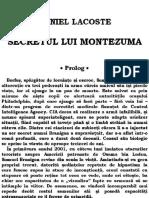 Daniel Lacoste -  Secretul Lui Montezuma