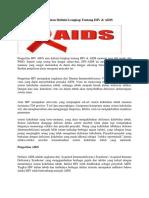 Pengertian HIV AIDS Atau Definisi Lengkap Tentang HIV