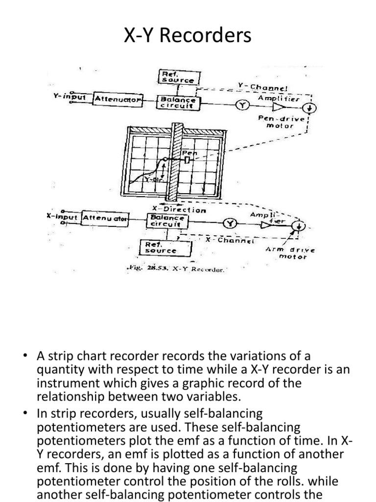 X Y Recorders | Inductor | Electrical EngineeringScribd