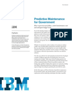 Predictive Maintainance for Government