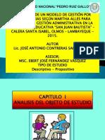 Diapositivas GESTIÓN POR COMPENTECIAS según Martha Alles