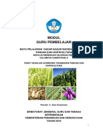 Bahan Bacaan Modul a Dasar Dasar Budidaya Tanaman Pangan Dan Hortikultura Profesional