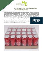 Getränkesystem - Ein Guter Weg, Um Ein Komplettes Getränk Zu Verwalten