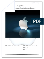 116533509 a Project Report on Apple Inc