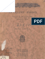 Army Artillery Firing Report