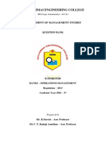 BA7201 Operations Management